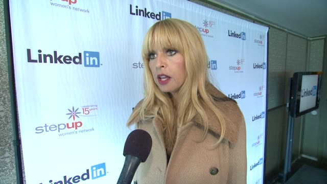 INTERVIEW Rachel Zoe on upcoming projects at Rachel Zoe Launches The LinkedIn Discussion Series Benefiting Step Up Women's Network 10/29/13
