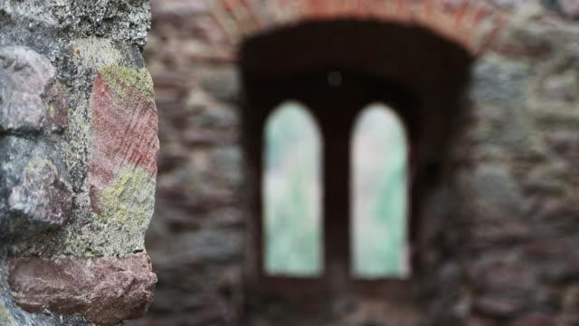 Rack focus, generic castle interiors