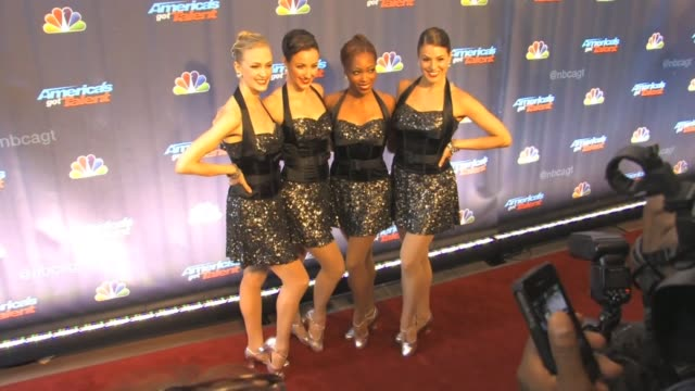 Radio City Rockettes arrive to America's Got Talent at Celebrity Sightings in New York Radio City Rockettes arrive to America's Got on July 24 2013...