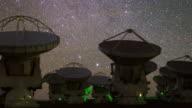 Radio Telescopes in Action (panning)