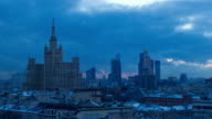 TL Radisson Royal Hotel, sunset / Russia, Moscow