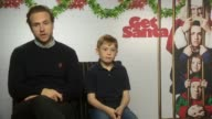 INTERVIEW Rafe Spall and Kit Connor talk about starring in a Christmas movie at 'Get Santa' Interviews at The Soho Hotel on November 25 2014 in...