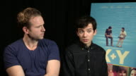 INTERVIEW Rafe Spall Asa Butterfield on the research for their role how they developed their roles at 'XY' Interview on October 15 2014 in London...
