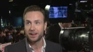 Rafe Spall at 'I Give It A Year' European Premiere in London England UK on 1/24/13