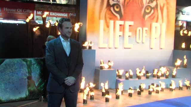 Rafe Spall at the UK Premiere of 'Life of Pi' at Empire Leicester Square on December 3 2012 in London England