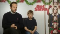 INTERVIEW Rafe Spall on working with Jon Hamm in the Christmas episodes of Black Mirror at 'Get Santa' Interviews at The Soho Hotel on November 25...