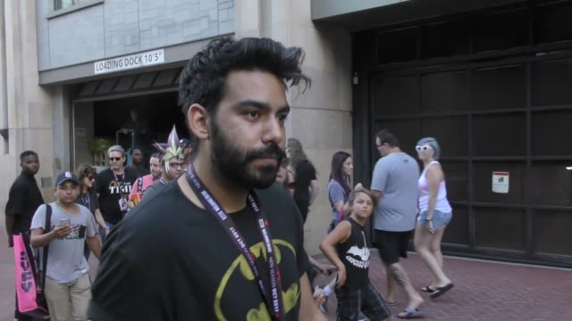 INTERVIEW Rahul Kohli talks about Comic Con costumes while walking around at San Diego Comic Con in San Diego in Celebrity Sightings in San Diego