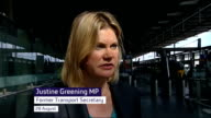 Government withdraws West Coast franchise tender 2882012 London Justine Greening MP interview SOT On Virgin's West Coast franchise bid