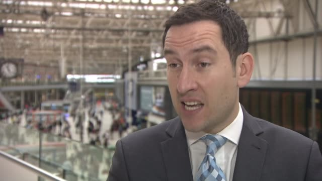 Long delays on first day of upgrade project at Waterloo Station Andrew Commons interview SOT