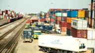 Railroad nave cargo.