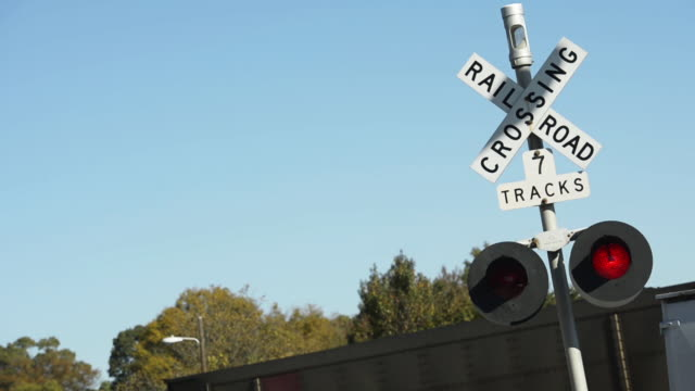 Railroad crossing signage