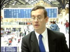 Shareholders informed of shares value ITN London Liverpool Street Station Andrew Chalken interview SOT Talks of not being happy at valuation of the...