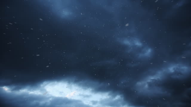 Regen und Donner Sturm