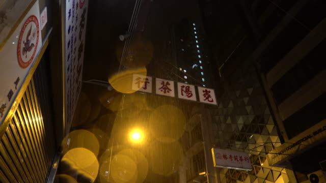 rain & chinese sign