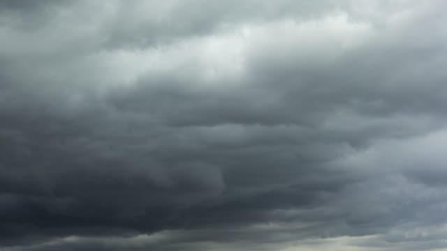 Rain clouds Timelapse