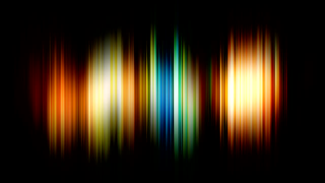 Rainbow blur background v1