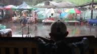 Raining in Yangon