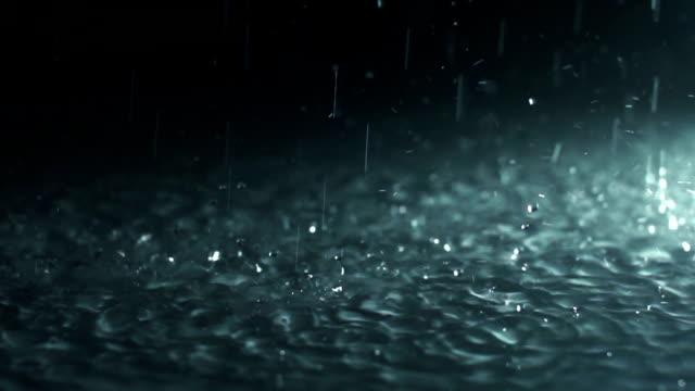 Raining (Super Slow Motion)