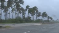 Rains from Hurricane Maria intensify Thursday in the Dominican Republic increasing flooding in urban and rural areas due to rising rivers and leaving...
