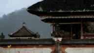 Rainy Bali Temple
