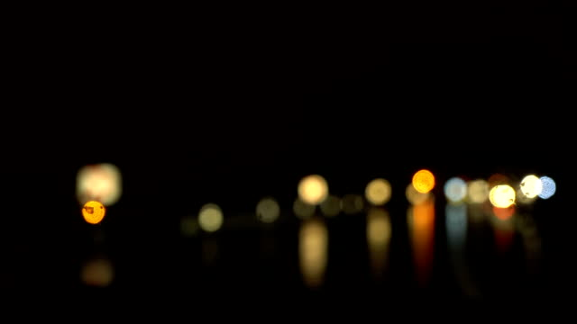 Rainy Night Drive - Bokeh