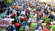 Rajasthan Udaipur India Asia market fruit agriculture people