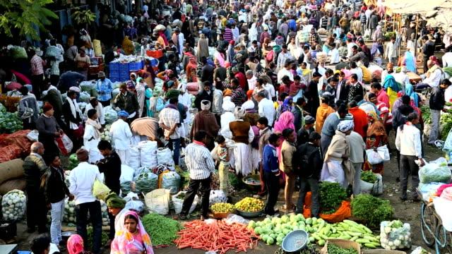 Rajasthan Udaipur India Asia market vegetables male