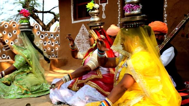 Rajasthan Udaipur India music local singing female group