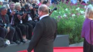Rakhshan Banietemad Roy Andersson Alba Rohrwacher Romain Paul Andrei Konchalovsky at Closing Ceremony 71st Venice International Film Festival at Sala...
