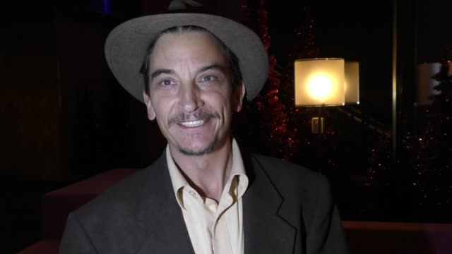 INTERVIEW Ralph Michael Brekan talks about Christmas Gift rules for kids at the Survivor Millennials vs Gen X Wrap Party at The Standard Hotel In Los...