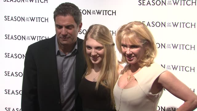 Ramona Singer Avery Singer and Mario Singer at the 'Season Of The Witch' New York Premiere at New York NY