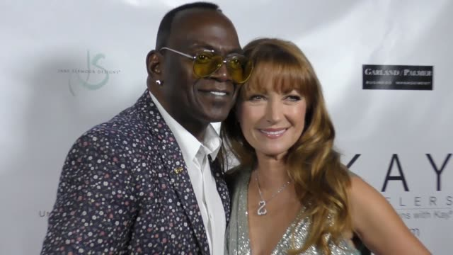 Randy Jackson and Jane Seymour at The 2017 Open Hearts Gala at SLS Hotel on October 21 2017 in Beverly Hills California