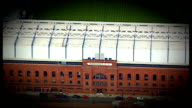 Rangers banned from Scottish Premier League DATE of Ibrox Stadium