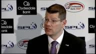 Rangers banned from Scottish Premier League SCOTLAND Glasgow PHOTOGRAPHY *** Neil Doncaster press conference SOT
