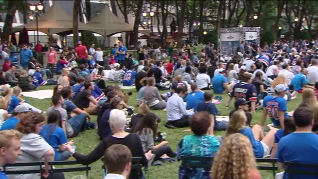 Rangers Stanley Cup Finals Viewing Party and Fanfest at Bryant Park 2014