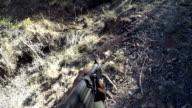 Rangers training to combat rhino poaching, South Africa
