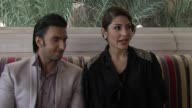 Ranveer Singh and Anushka Sharma on the plot of the movie and their characters at The Ladies vs Ricky Bahl Interview 8th Dubai International Film...