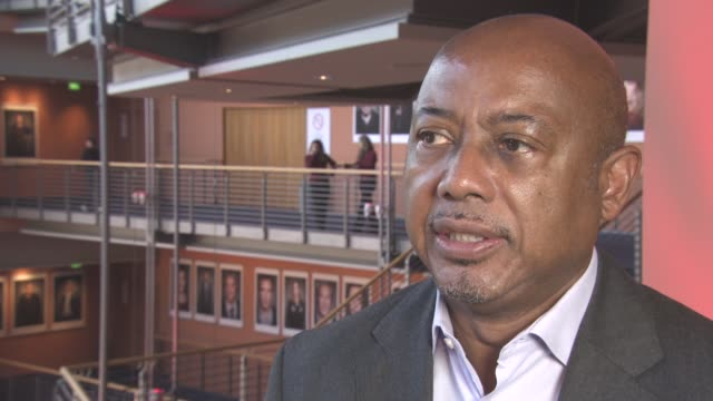 INTERVIEW Raoul Peck on the film the impact James Baldwin had on him at Berlin Film Festival 'I Am Not Your Negro' Interviews at Berlinale Palast on...