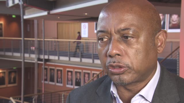 INTERVIEW Raoul Peck on the success of the film in North America at Berlin Film Festival 'I Am Not Your Negro' Interviews at Berlinale Palast on...