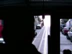 S-Bahn Rushhour: Straßenbahn Vorderseite, uneben, schnell