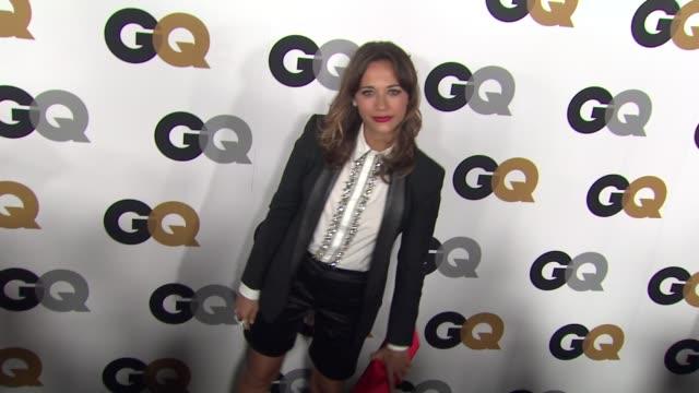 Rashida Jones at GQ's 2012 Men Of The Year Party on 11/13/12 in Los Angeles CA