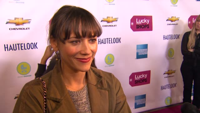 Rashida Jones on what brings her out what makes Lucky Magazine is her favorite shopping magazine the spring trends she is looking forward to wearing...