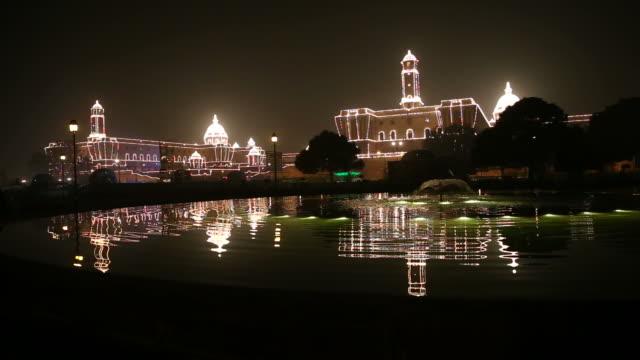 Rashtrapati Bhavan, House of the Indian President, New Delhi, India