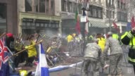 Raw Footage from Steve Silva of the Boston Marathon aftermath matches full video on Bostoncom from Boston Marathon Explosion and Aftermath Pt 2 on...
