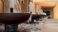 raw of fountains