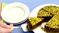 Raw Torta Pistacchio