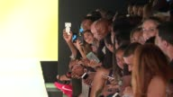 Ray Allen and guests watch models walk the runway at Kids Rock September 2016 New York Fashion Week at The Dock Skylight at Moynihan Station on...