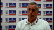 Hertfordshire St Albans Sopwell House INT Ray Clemence interview SOT On upcoming EnglandKazakhstan international match / On playing away / Denies...