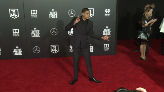 Ray Fisher at the 'Justice League' World Premiere at Dolby Theatre on November 13 2017 in Hollywood California