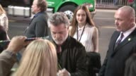 Ray Liotta greets fans at the Muppets Most Wanted after party in Hollywood Celebrity Sightings in Los Angeles on March 11 2014 in Los Angeles...